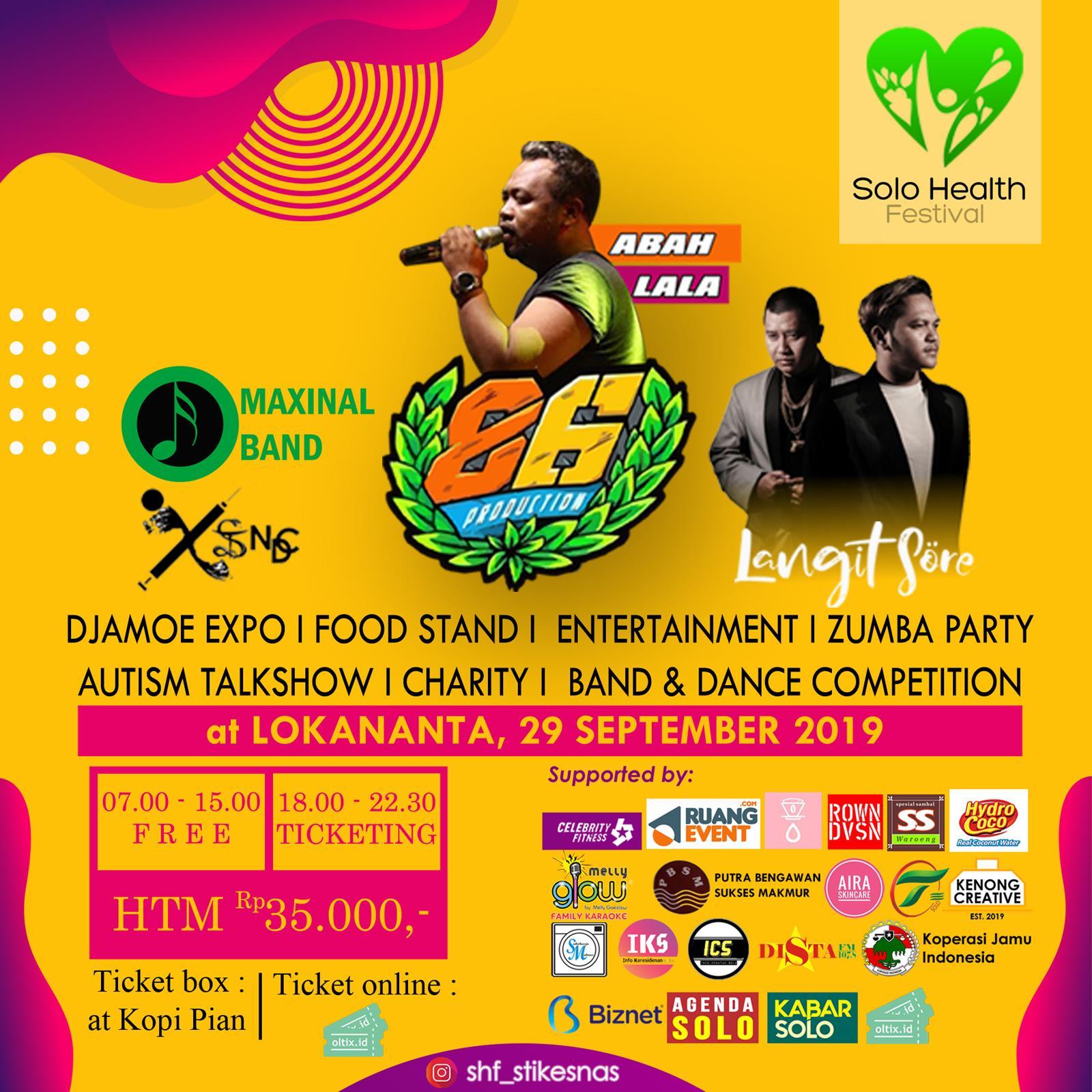Solo Health Festival 2019